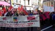 Retraites : La manif au Puy-en-Velay