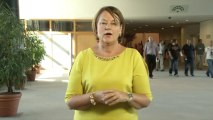 Nathalie Griesbeck présente les dossiers de la session plénière de septembre 2013