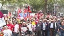 Manifestation contre la réforme des retraites à Lyon