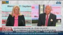 François Bujon de l'Estang, ancien ambassadeur de France à Washington, dans Le Grand Journal - 11/09 4/4