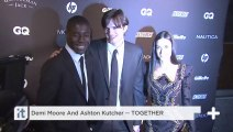 Demi Moore And Ashton Kutcher -- TOGETHER