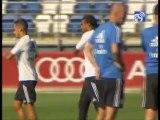 Sesion de entrenamiento Real Madrid 10/09/2013