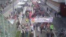 Manifestation à Bordeaux contre la réforme des retraites