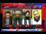 Off the Record - 10th September 2013 ( 10-09-2013 ) Full with Kashif Abbasi ON ARYNews