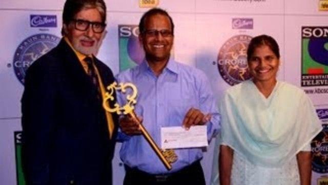 Kaun Banega Crorepati 7 Gets Its First Crorepati | Amitabh Bachchan, Taj Mohammed Rangrez