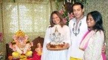 Salman Khan Celebrates Ganesh Chaturthi 2013   Bollywood Event   Salim Khan, Alvira Khan, Sohail