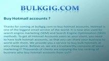 Buy Hotmail accounts, aol accounts, twitter accounts, gmail accounts