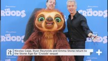 Nicolas Cage, Ryan Reynolds And Emma Stone Return To The Stone Age For 'Croods' Sequel