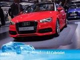 Audi A3 Cabriolet au Salon de Francfort 2013