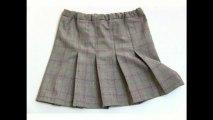 Cours de couture - apprendre à coudre une jupe plissée - Tuto de couture