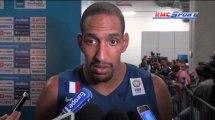 Basket / Les réactions d'Alexis Ajinça et Boris Diaw après Lituanie - France - 12/09