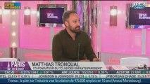 Made in Paris : Matthias Tronqual, co-fondateur du Club des Enfants Parisiens dans Paris est à vous –- 12/09