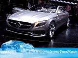 Mercedes Classe S Coupé Concept Salon de Francfort 2013