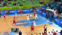 EuroBasket - La Serbie presque en quarts