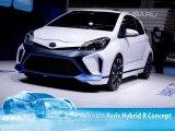 Toyota Yaris Hybrid R Concept au Salon de Francfort 2013