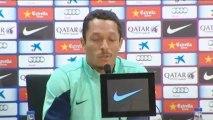 El Barcelona entrena con Messi y Neymar de cara al partido con el Sevilla