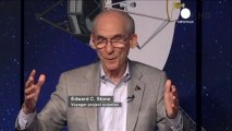 Voyager makes history by travelling into space beyond...