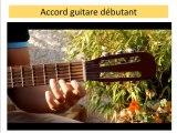 Cours Guitare Débutant : Accord De Ré Majeur - Accord D - Facile à jouer