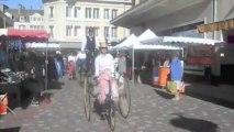 Beauvais : de drôles de vélos investissent le centre-ville