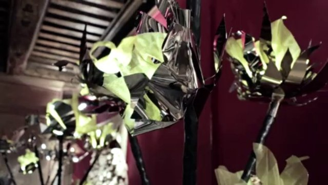AD Intérieurs 2013, le décor de Maria Pergay pour FENDI