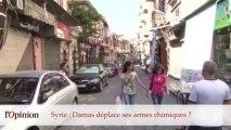 """60"""" : Syrie : Damas déplace ses armes chimiques ?"""