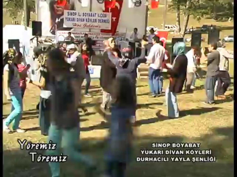 Yöremiz Töremiz - Sinop Boyabat Yukarı Divan Köyleri Durhacılı Yayla Şenliği 2.Bölüm
