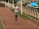 Echasses urbaines-Poweriser - Comment courir