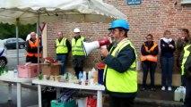 Beauvais : les artisans du bâtiment manifestent devant la préfecture