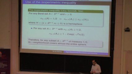 High-Dimensional Phenomena and Convexity_Boaz Klartag