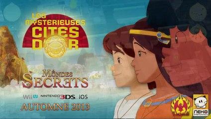 Vidéo de gameplay de Les Mystérieuses Cités d'Or : Mondes Secrets