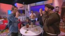 Jeff mange des racines d'oignon - Bienvenue chez Cauet