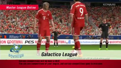 Master League Trailer de Pro Evolution Soccer 2013