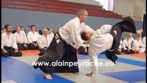 Aïkido traditionnel à Bourg en bresse avec Alain PEYRACHE Shihan