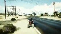 GTA V - Gameplay Quad Los Santos