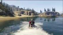 GTA V - Gameplay Jet ski