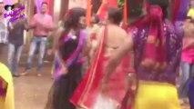 On location of TV Serial 'Madhubala'- Dahi Handi celebrations with Madhu & RK