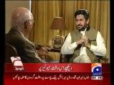 Jirga , Saleem Safi ,14 September 2013 , Sartaj Aziz Adviser Foreign Affair , Talk Show , Geo News
