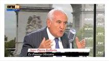 """Raffarin sur la pause fiscal : """"Un discours d'illusion"""""""