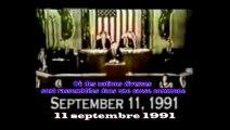 11 septembre 1991 - George Bush Sénior