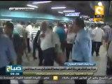 صباح ON - عبد الله فوزي: حركة المترو طبيعية ولم نتلقى أي شكاوى