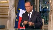"""François Hollande sur la Syrie : """"Nous devons être fiers de ce que nous avons fait"""""""