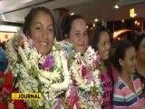 Mini-jeux  les tahitiens de retour au fenua