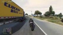 GTA 5 : Traversée de la carte en véhicules