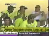 Shahid Afridi 2nd ODI Century vs India - 2nd Fastest Century - 102 off 45 at Kanpur 2005