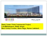 Get Discout///-9871424442-///Baani Retail Projects+Shops Gurgaon
