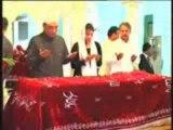 aseefa bhutto zardari with President Asif Ali Zardari visits mazar of Benazir Bhutto 2013