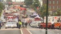 Fusillade meurtrière à Washington : premières images