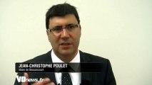 ITW Jean-Christophe Poulet - Inauguration du centre culturel de Bessancourt