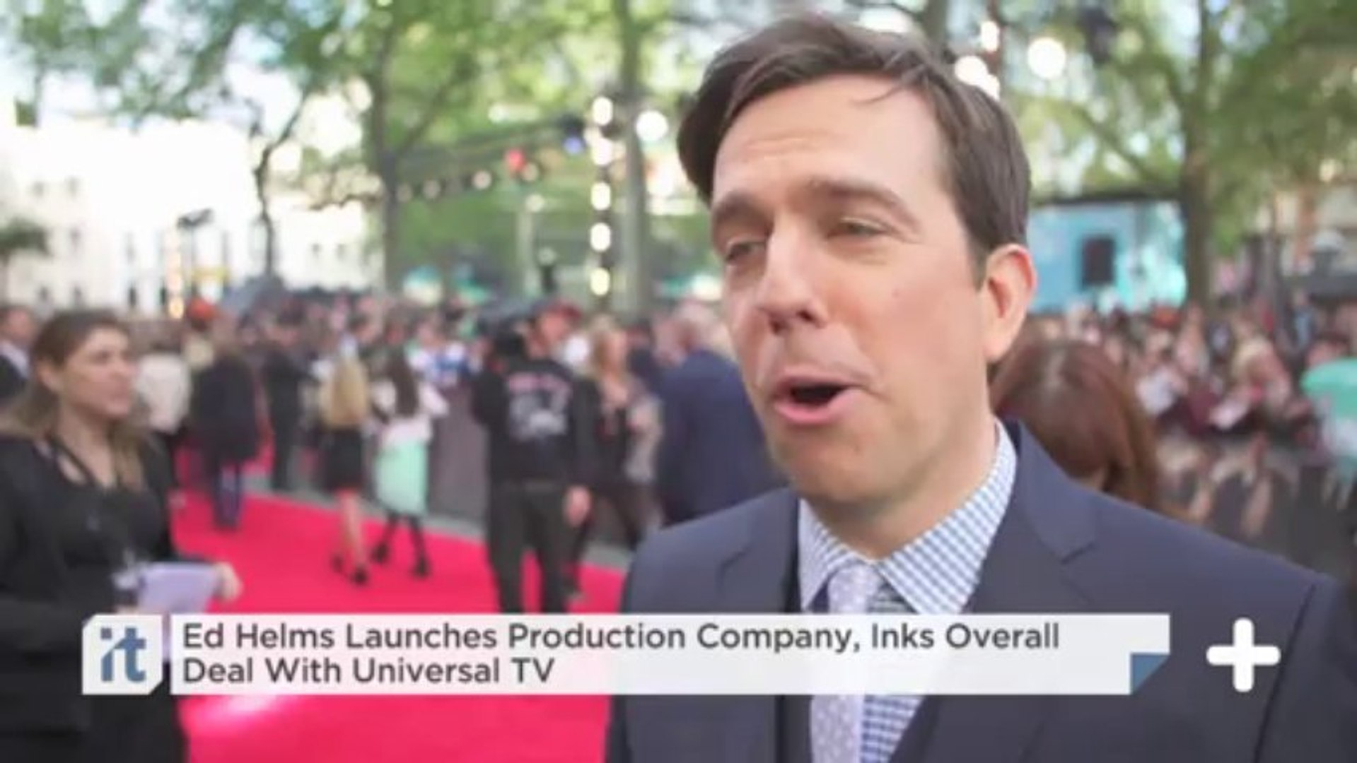 Ed Helms Launches Production Company, Inks Overall Deal With Universal TV