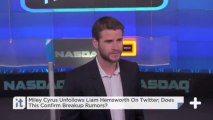 Miley Cyrus Unfollows Liam Hemsworth On Twitter; Does This Confirm Breakup Rumors?